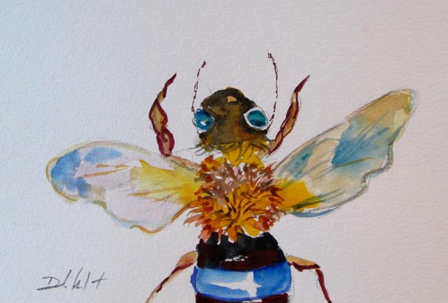 Art: Bee No. 8 by Artist Delilah Smith