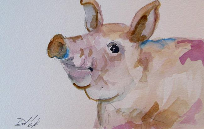 Art: Pig No. 11 by Artist Delilah Smith