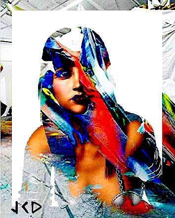 Art: MAGIC GIRL by Artist Jean-Claude Delhaise