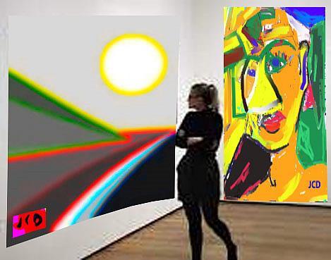 Art: MY MUSEUM by Artist Jean-Claude Delhaise