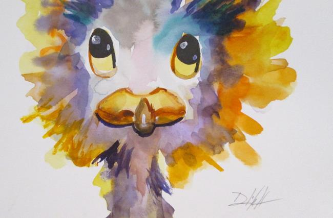 Art: Little Ostrich by Artist Delilah Smith