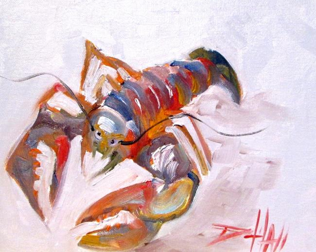 Art: Lobster No. 10 by Artist Delilah Smith