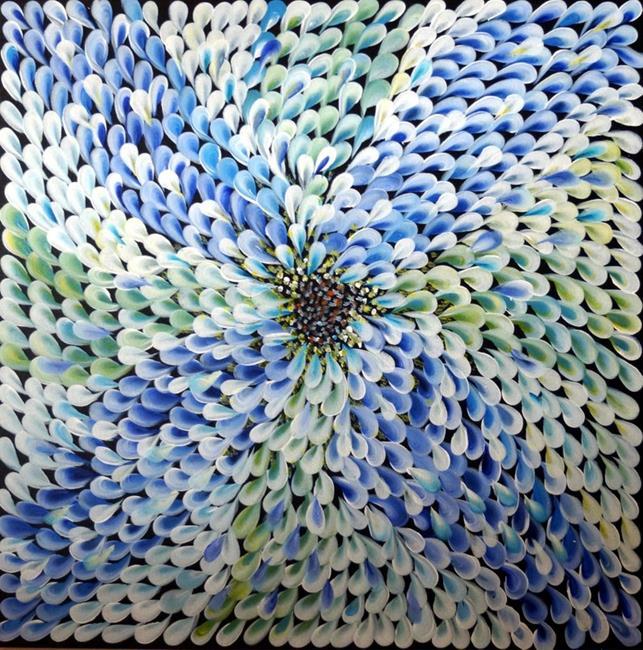 Art: FLOWER PETALS by Artist LUIZA VIZOLI