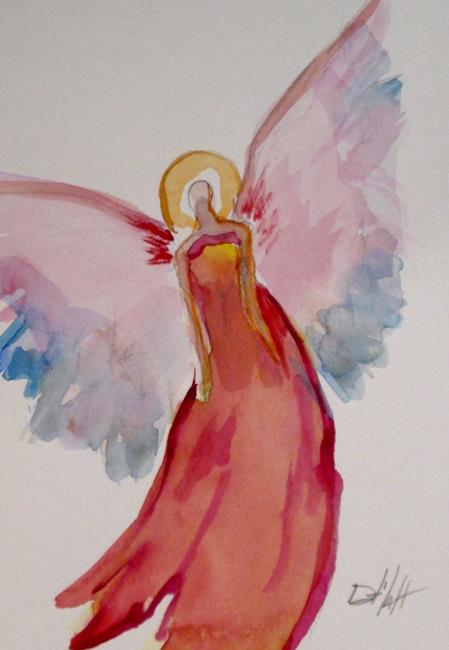 Art: Angel No. 34 by Artist Delilah Smith