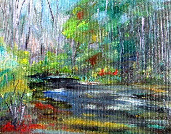 Art: Brooker Creek by Artist Delilah Smith