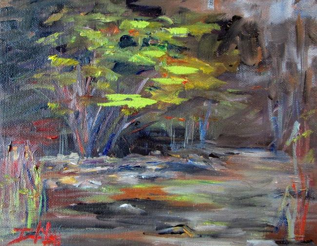 Art: Brooker Creek No. 2 by Artist Delilah Smith