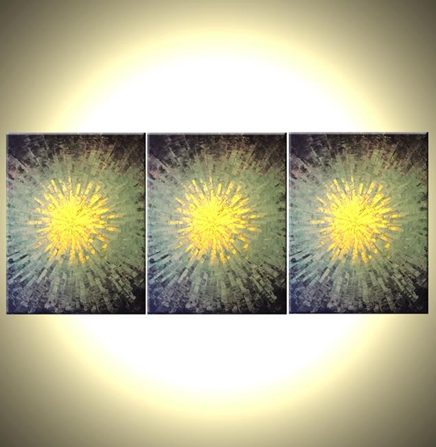 Art: Core Of Gold by Artist Daniel J Lafferty