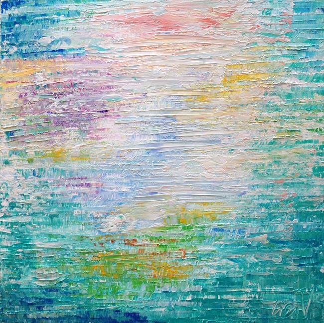 Art: WATER MIST by Artist LUIZA VIZOLI