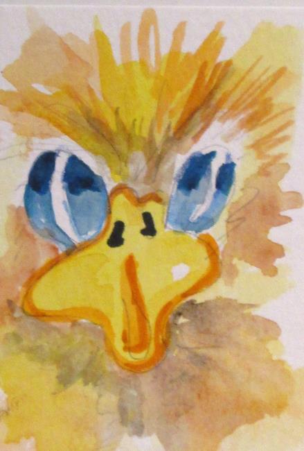 Art: Fuzzy Duck by Artist Delilah Smith
