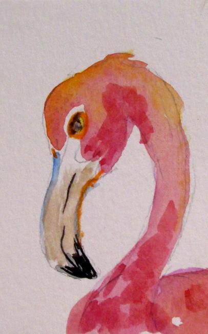 Art: Flamingo No. 24 by Artist Delilah Smith