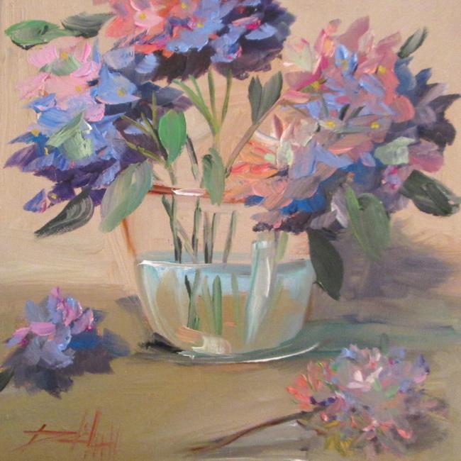 Art: Hydrangea No.5 by Artist Delilah Smith