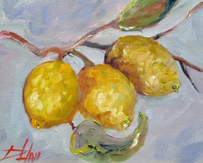 Art: Lemon Tree by Artist Delilah Smith