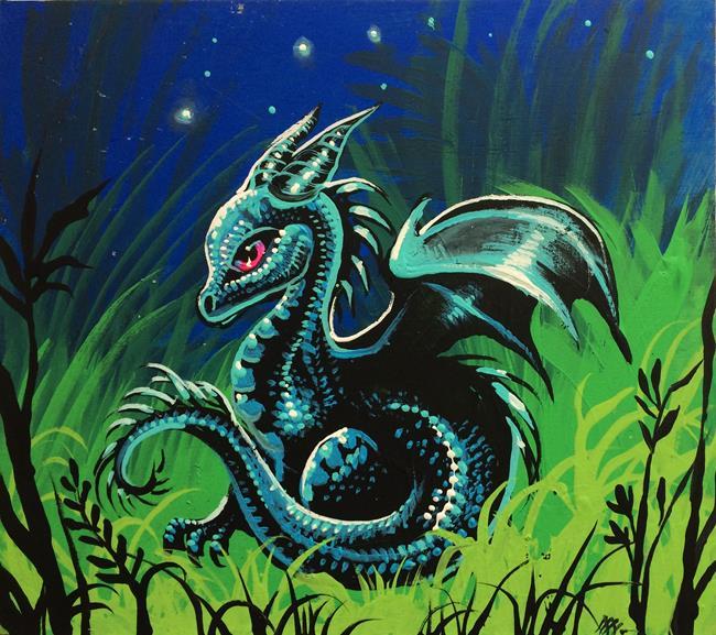 Art: Dragon's Garden by Artist Nico Niemi