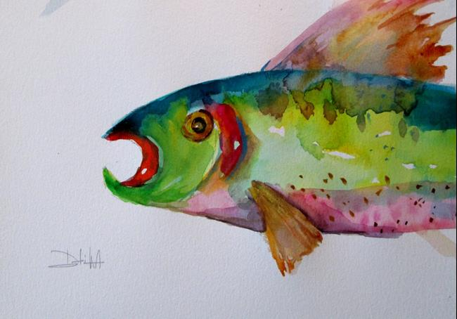Art: Trout No. 10 by Artist Delilah Smith