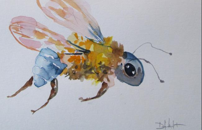 Art: Bee No. 9 by Artist Delilah Smith