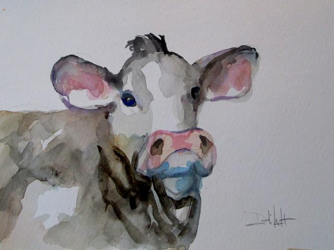 Art: Cow No. 16 by Artist Delilah Smith