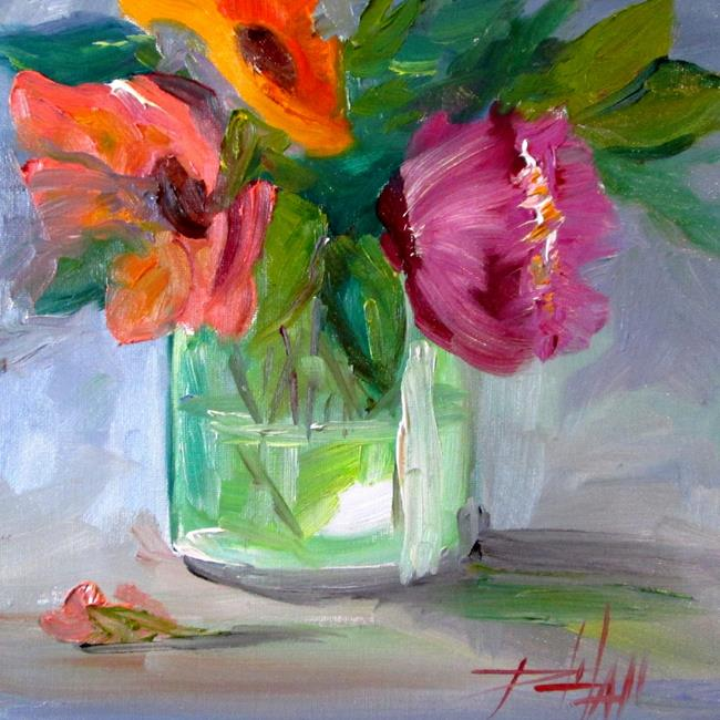 Art: Floral Still Life No. 10 by Artist Delilah Smith