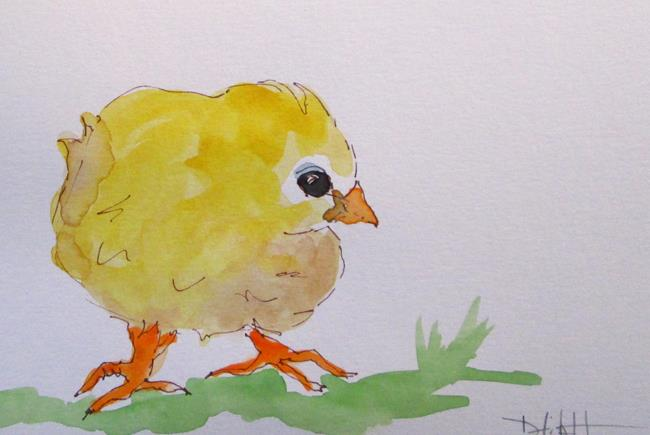 Art: Chick by Artist Delilah Smith