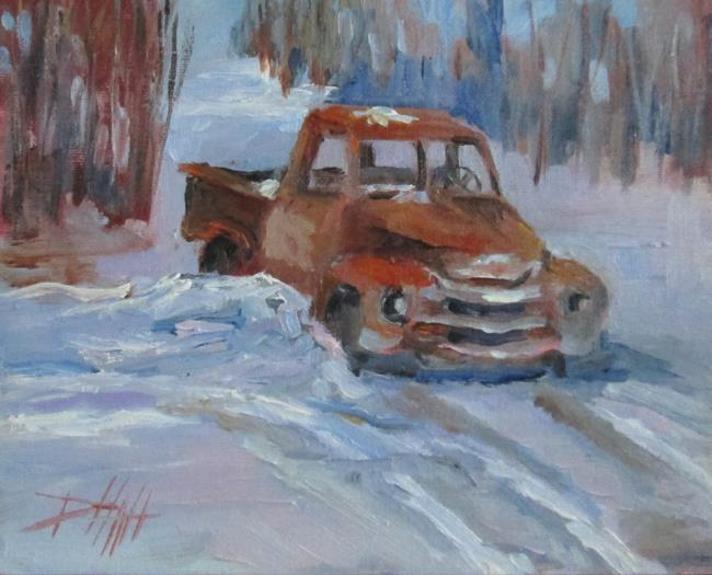 Art: Snow Bound by Artist Delilah Smith