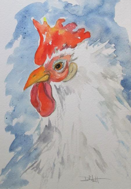 Art: Rooster No. 56 by Artist Delilah Smith