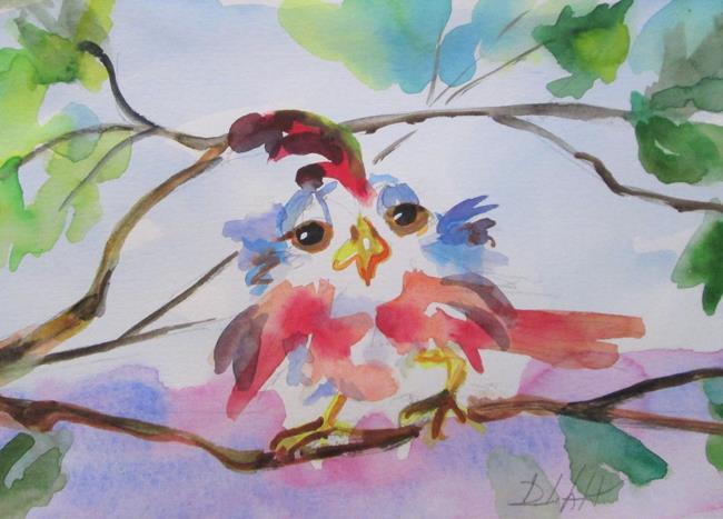 Art: Spring Bird No. 2 by Artist Delilah Smith