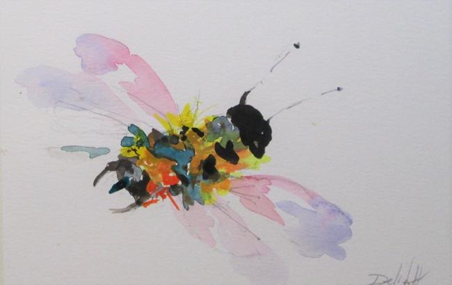 Art: Bee No. 10 by Artist Delilah Smith