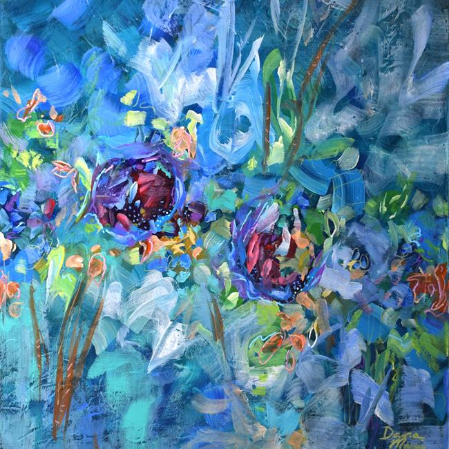 Art: Flowers Beckoned - Spring in Your Step series - Sold by Artist Dana Marie