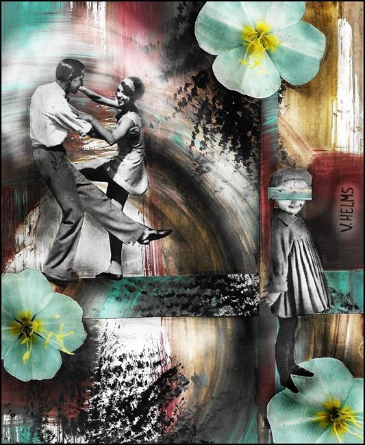Art: Spring Dance by Artist Vicky Helms