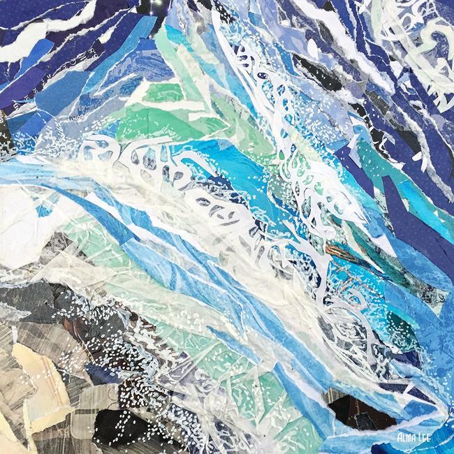 Art:  COL Flood Waters sm by Artist Alma Lee