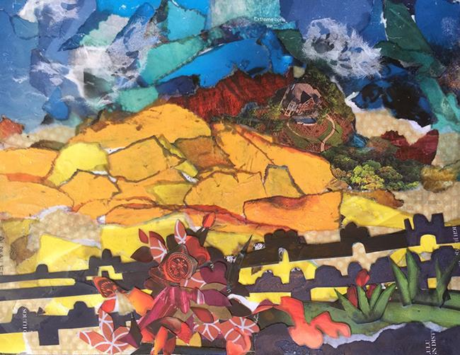 Art: here ye Gauguin lr by Artist Alma Lee