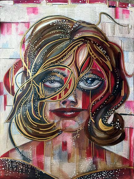 Art: Babsylon lr by Artist Alma Lee