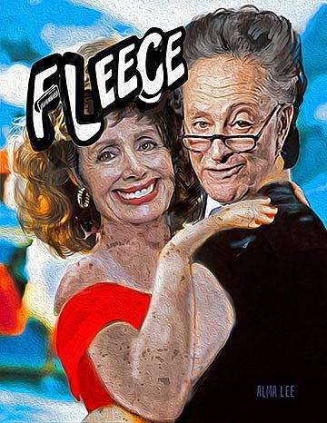Art: Fleece Lightening lr by Artist Alma Lee