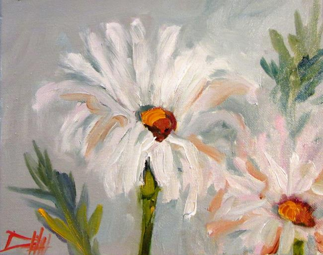 Art: Daisies No.3-sold by Artist Delilah Smith
