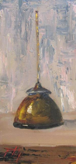 Art: Oil Can by Artist Delilah Smith
