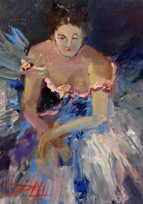 Art: The Ballerina by Artist Delilah Smith