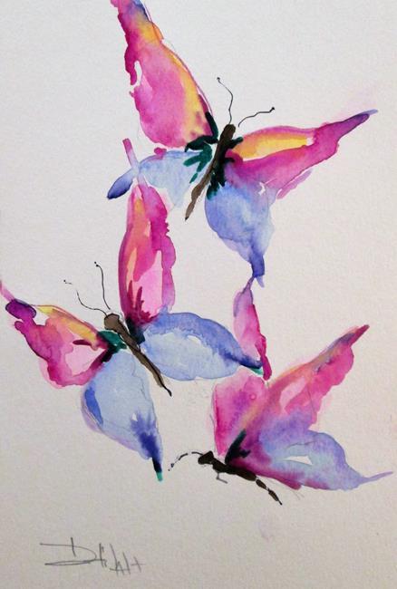 Art: Butterflies No. 8 by Artist Delilah Smith