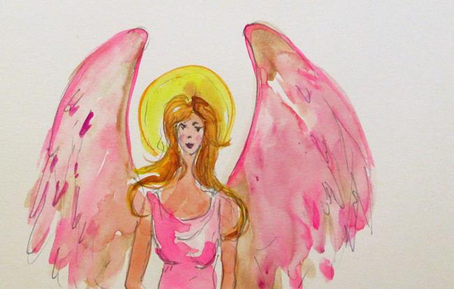 Art: Angel No. 35 by Artist Delilah Smith