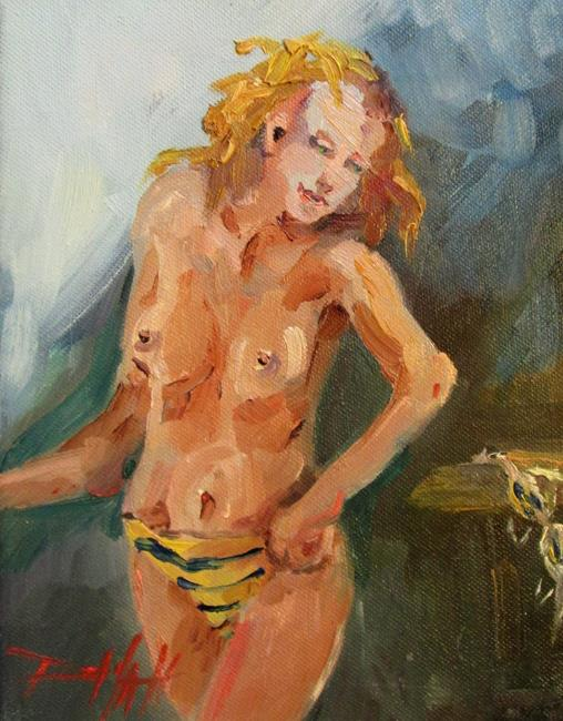 Art: Stripped Panties by Artist Delilah Smith