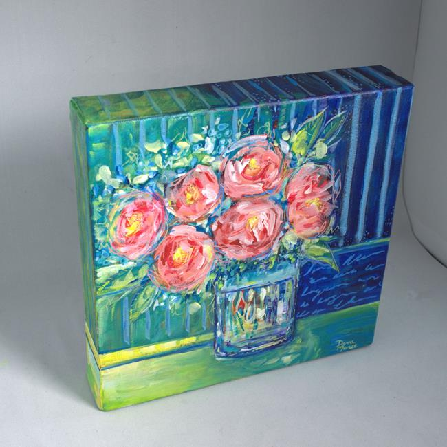 Art: By Your Side Series - Spring in Your Step series (SOLD) by Artist Dana Marie