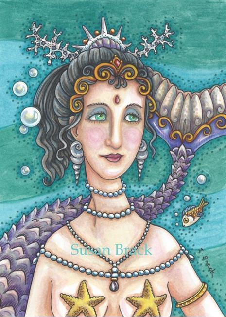Art: SERAPHINE by Artist Susan Brack