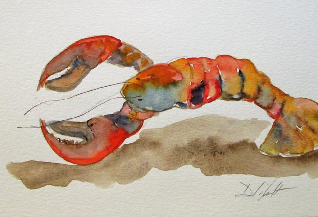 Art: Lobster No. 11 by Artist Delilah Smith