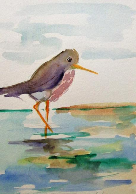 Art: Sandpiper by Artist Delilah Smith