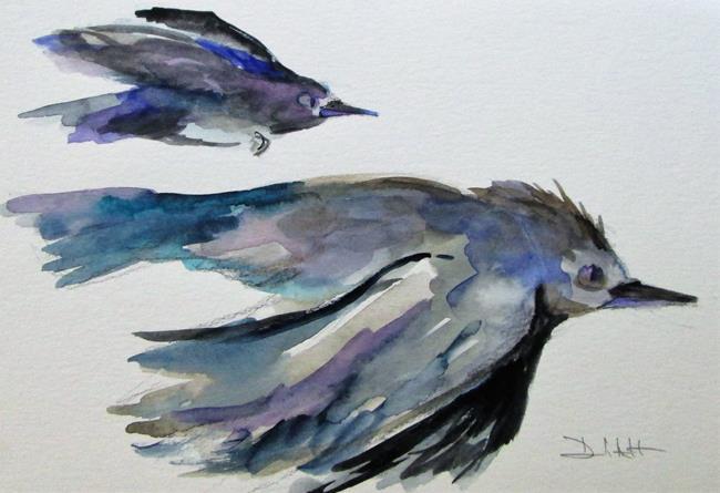 Art: Flying Birds by Artist Delilah Smith