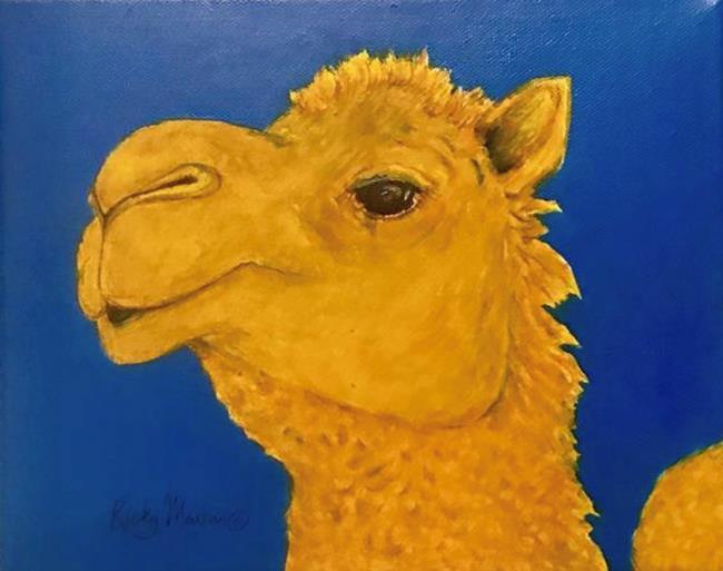 Art: Camel - sold by Artist Ulrike 'Ricky' Martin