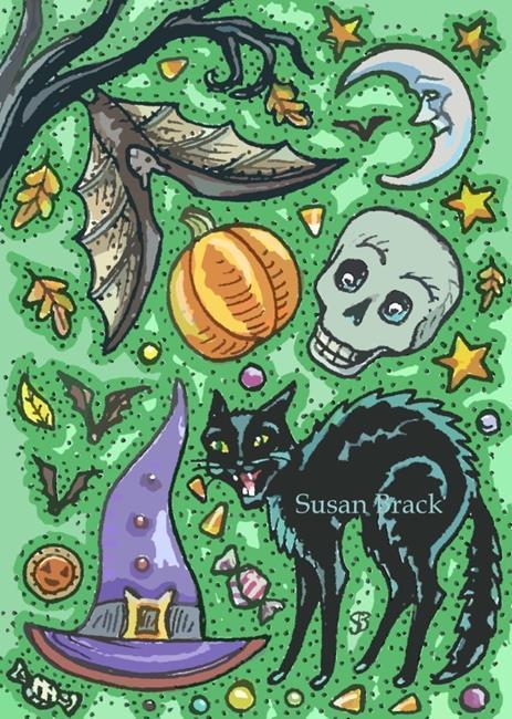 Art: SPOOKY SOUP by Artist Susan Brack