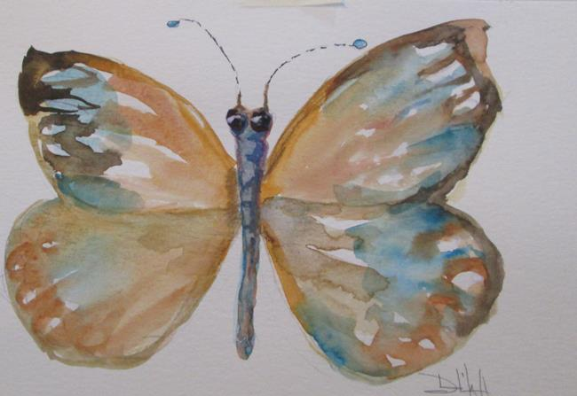 Art: Butterfly No.10 by Artist Delilah Smith