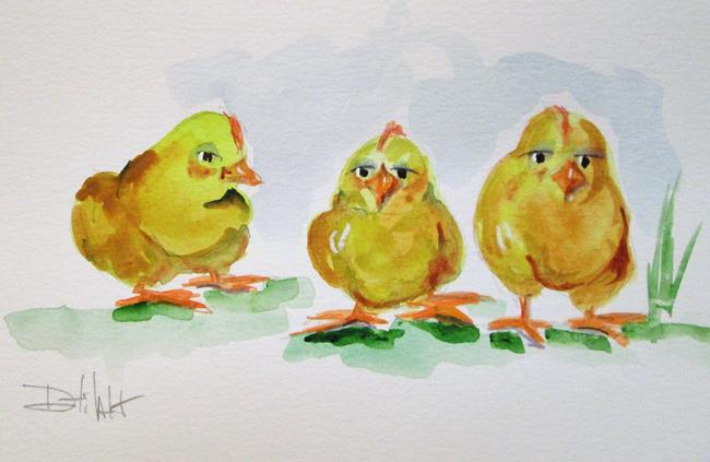 Art: Little Chicks by Artist Delilah Smith
