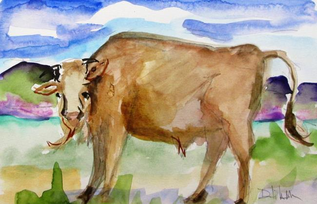 Art: Bison,American Buffalo by Artist Delilah Smith