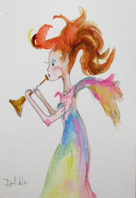 Art: Fairy No. 3 by Artist Delilah Smith