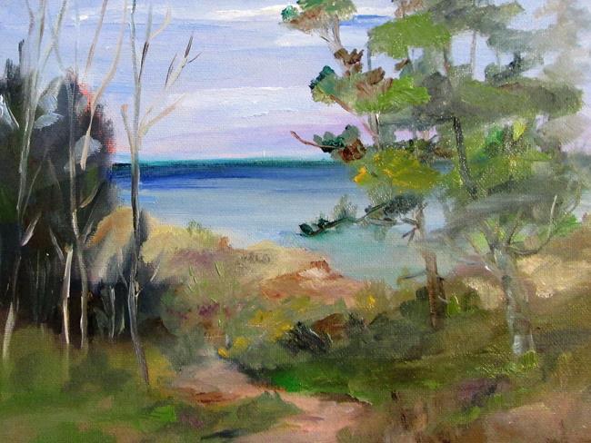 Art: Beach Path No. 2 by Artist Delilah Smith